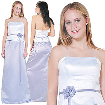 white prom formal dresses