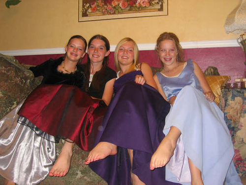 2008 purple prom dresses